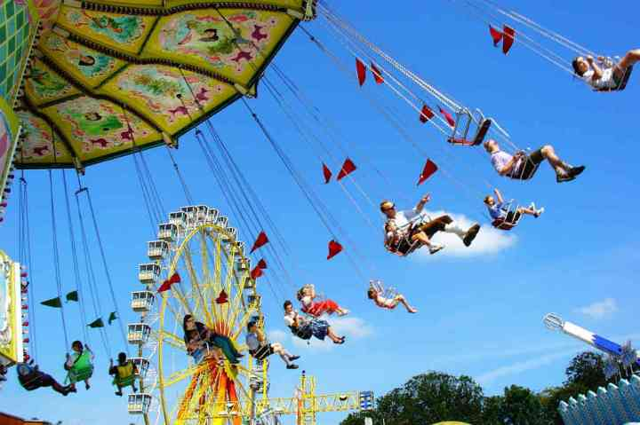 """Enjoy Yourself"" - A Gift of Gratitude - Amusement park"