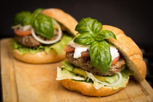 veggie burger images