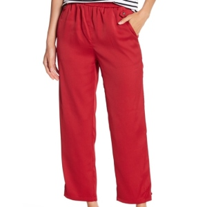 Romeo + Juliet Couture red ankle pants