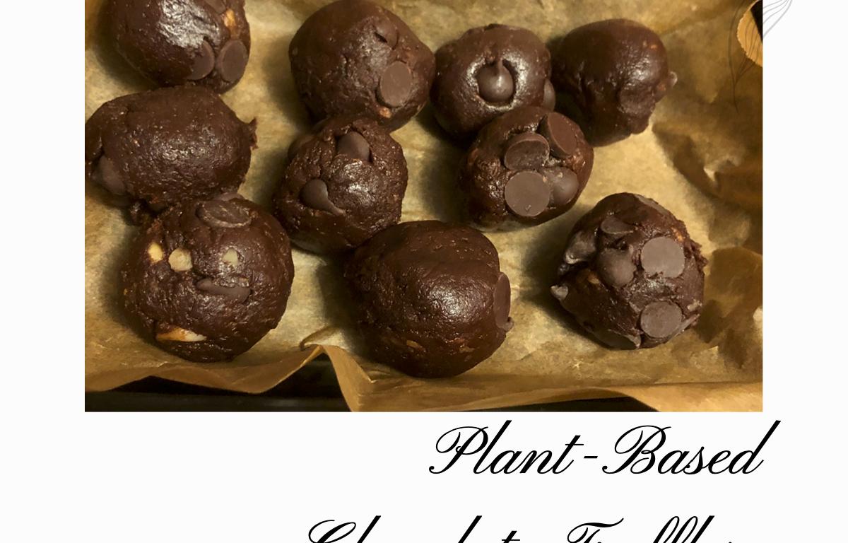 plant-based chocolate truffles recipe